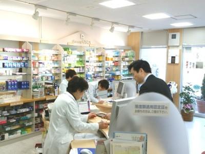 薬局内の写真